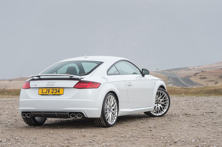 Audi TTS rear quarter