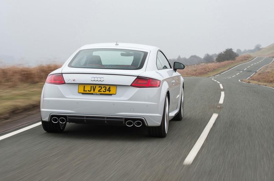 Audi TTS rear
