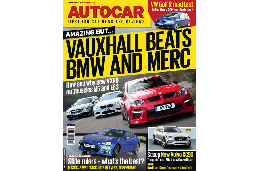Autocar magazine 9 April preview