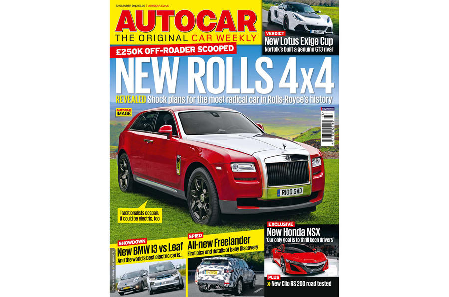 Autocar magazine 23 October preview