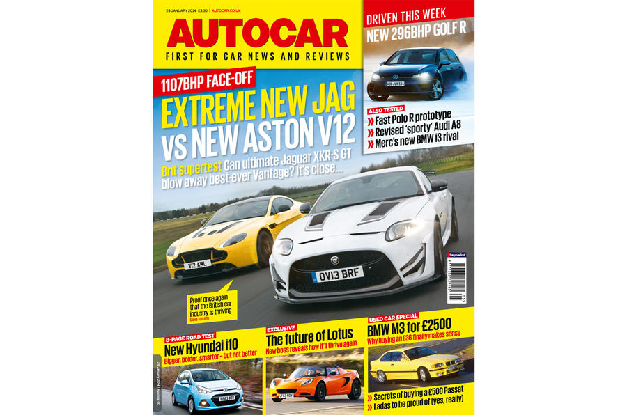 Autocar magazine preview 29 January