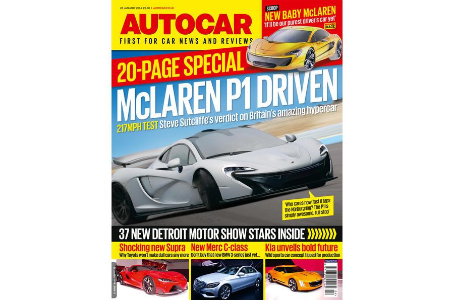 Autocar magazine 22 January preview