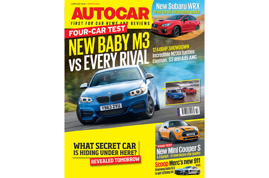 Autocar magazine 2 April preview