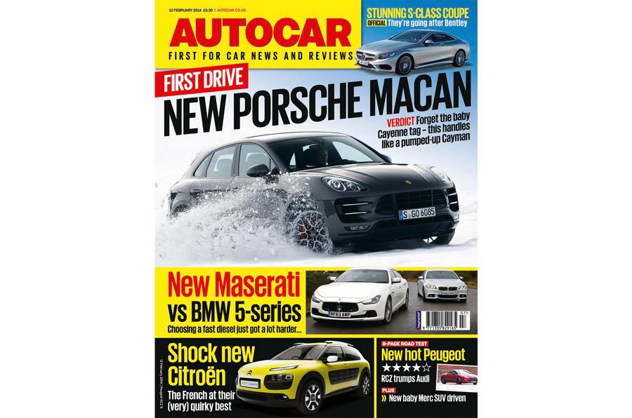 Autocar magazine 12 February preview