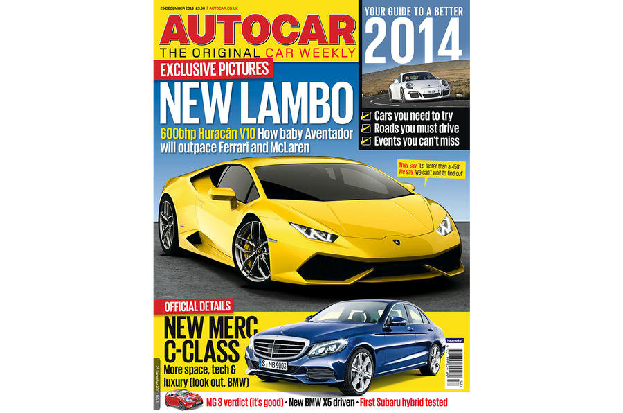 Autocar magazine 25 December preview