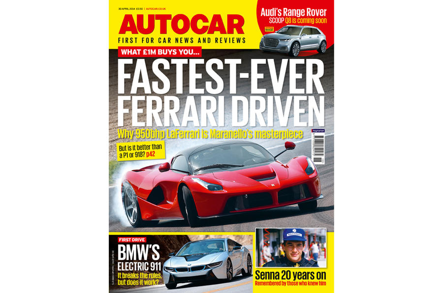 Autocar magazine preview 30 April