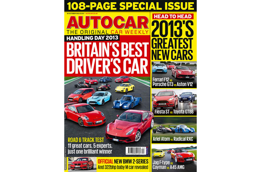 Autocar magazine 30 October preview