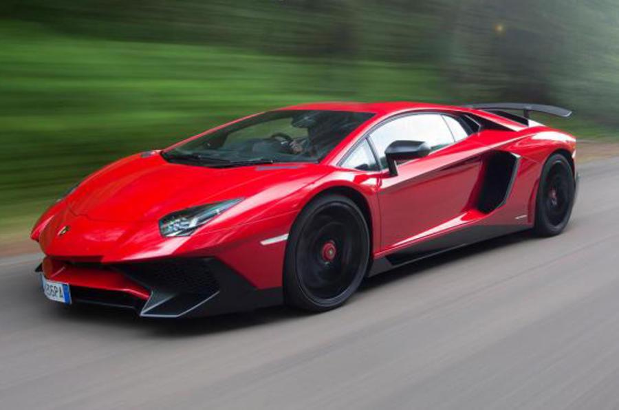 Captivating Lamborghini Aventador Superveloce ...
