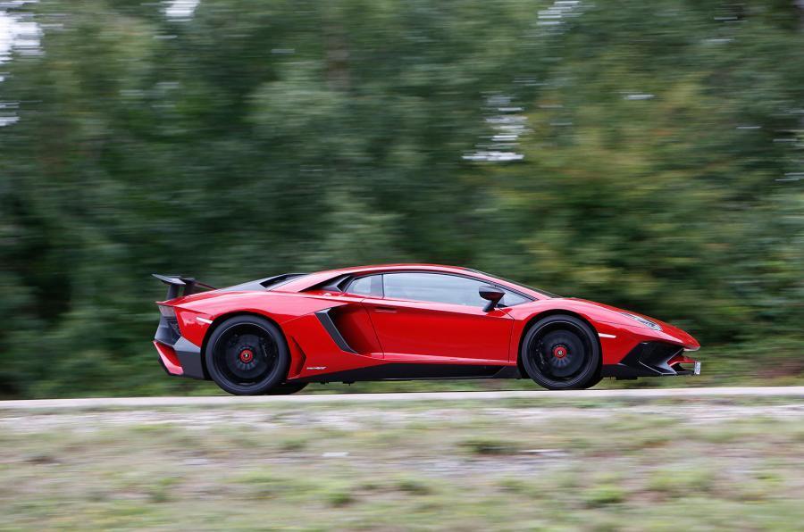 The £321,743 Lamborghini Aventador SV
