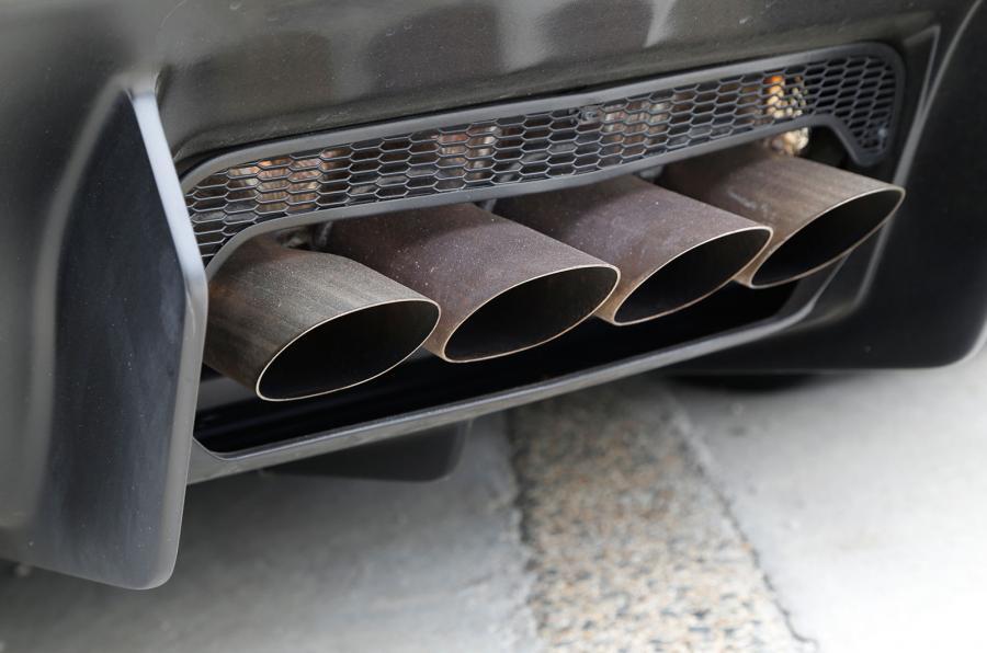 Lamborghini Aventador SV quad exhausts