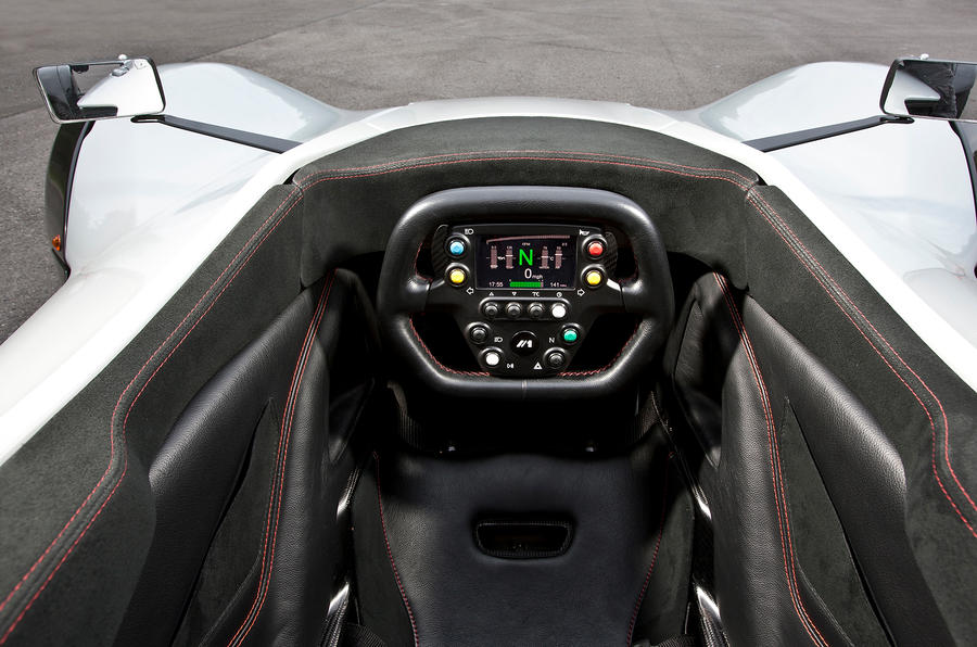 BAC Mono's cockpit