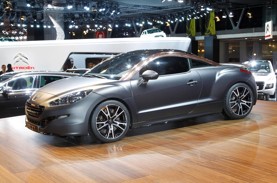 paris motor show 2012 peugeot rcz r autocar. Black Bedroom Furniture Sets. Home Design Ideas