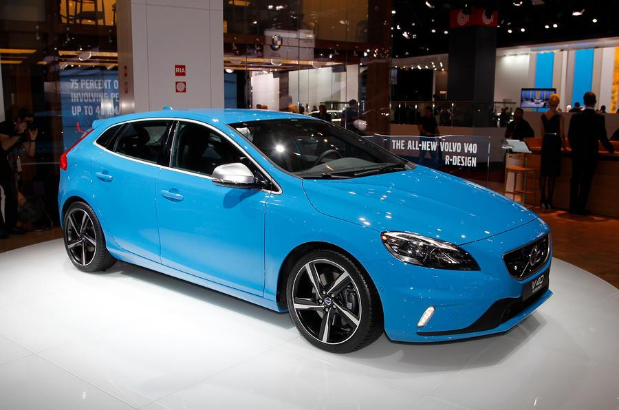 Paris motor show: Volvo V40 R-Design | Autocar
