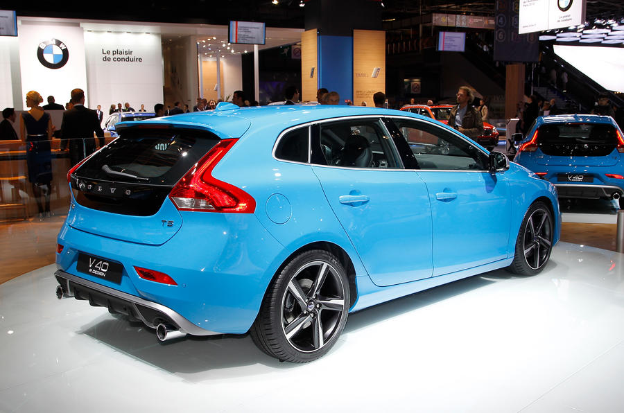 paris motor show volvo v40 r design autocar. Black Bedroom Furniture Sets. Home Design Ideas