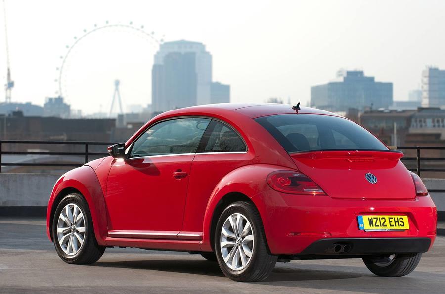 Volkswagen Beetle rearVolkswagen Beetle