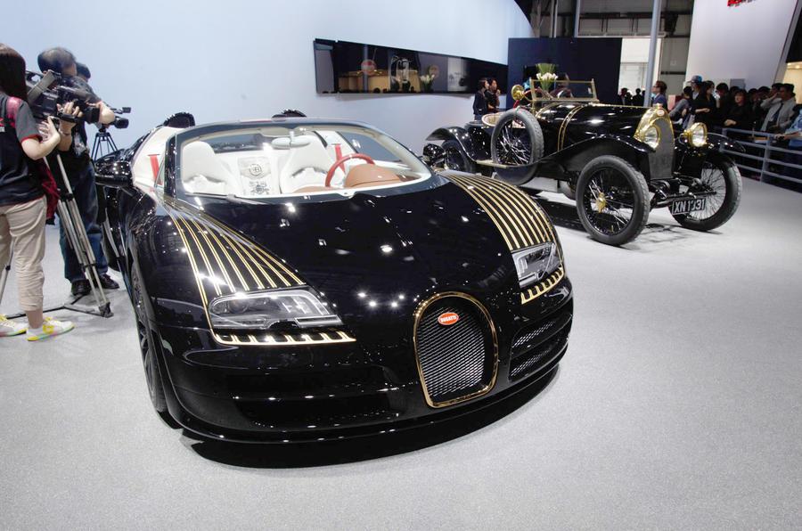 Bugatti to unveil fifth Legends car in Beijing