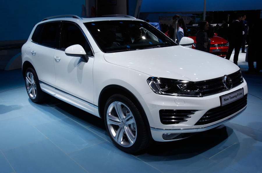 Volkswagen Touareg revisions focus on economy