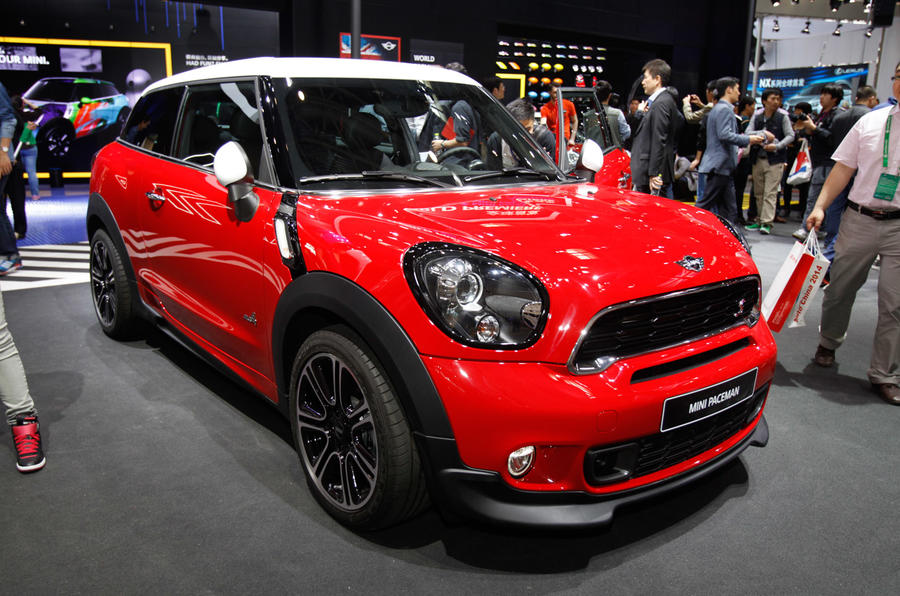 Revised Mini Paceman gets Beijing debut