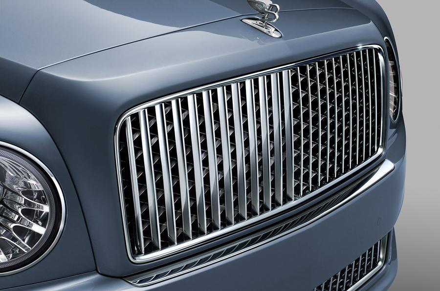 Bentley Mulsanne chrome grille