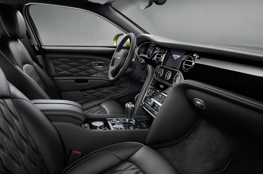 Bentley mulsanne interior pictures