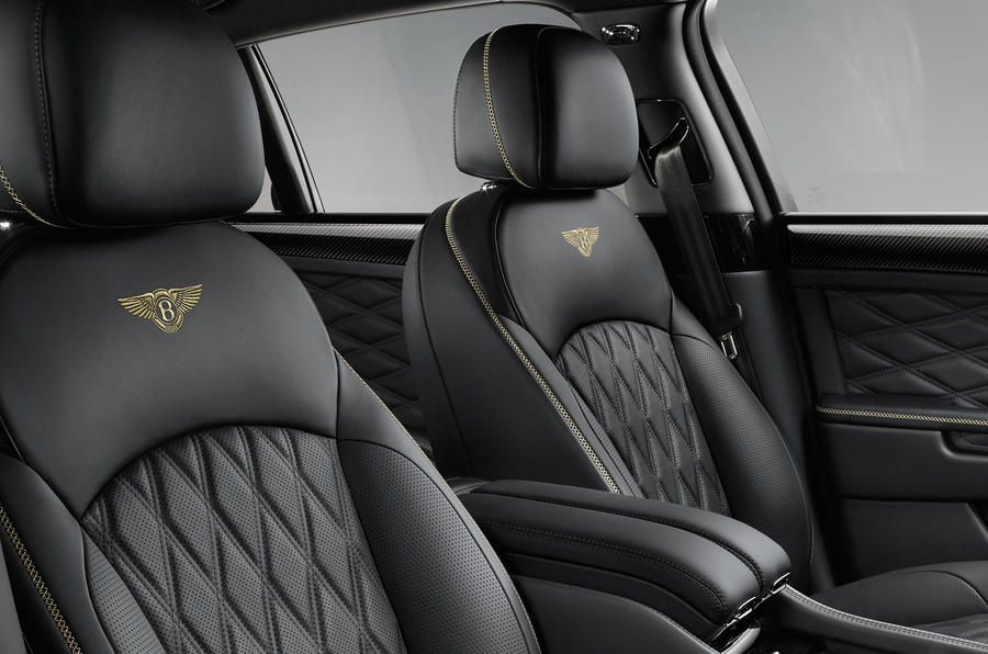 Bentley Mulsanne front seats