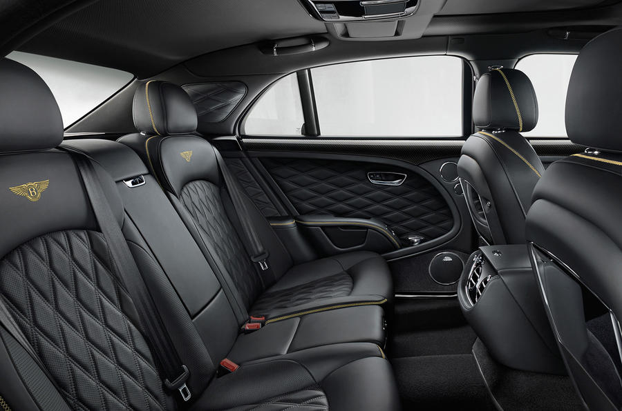 Bentley Mulsanne rear seats