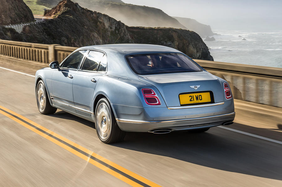 Bentley Mulsanne rear