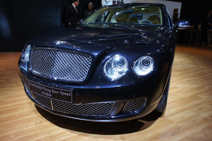 Bentley's new 'Arabia' special