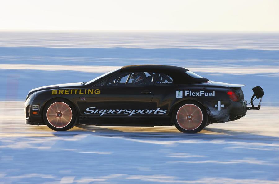 Bentley's ice breaker for Geneva