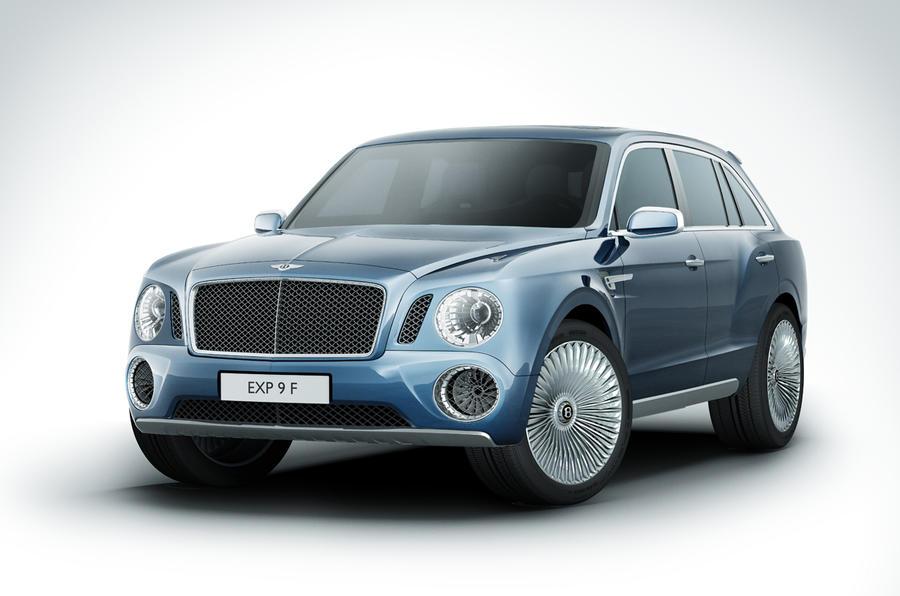 Geneva Motor Show 2012 Bentley Exp 9 F Concept Autocar