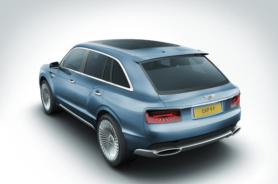 Geneva 2012: Bentley EXP 9 F concept