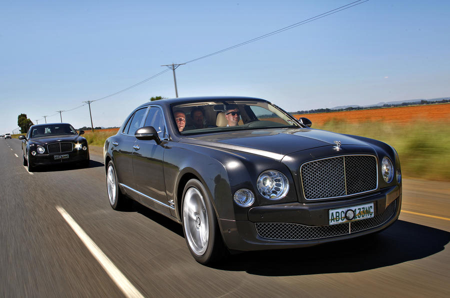 Bentley Mulsanne exclusive