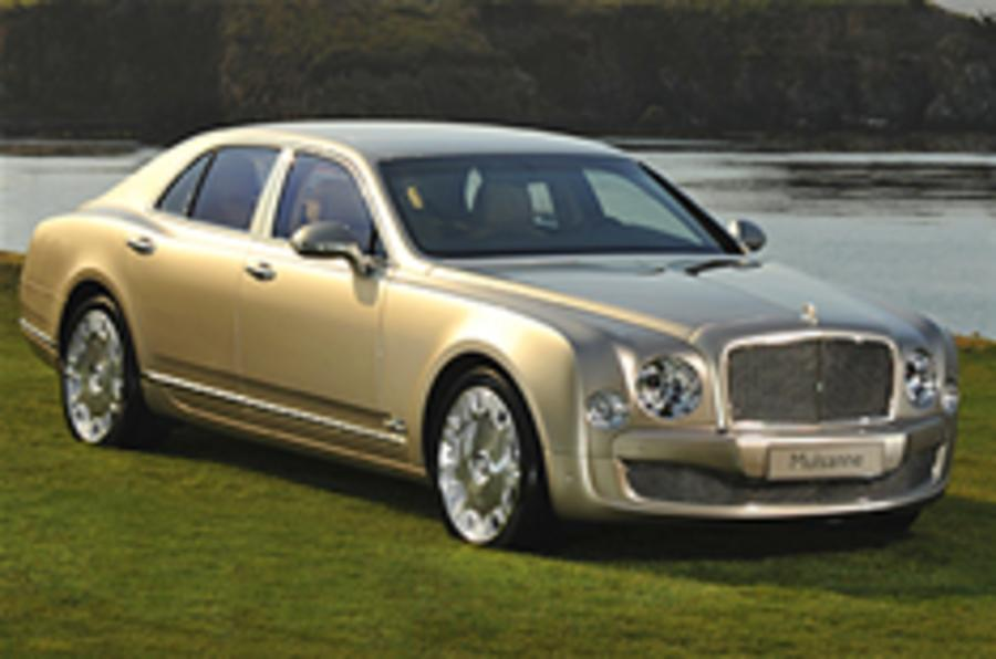First Mulsanne sells for £304k