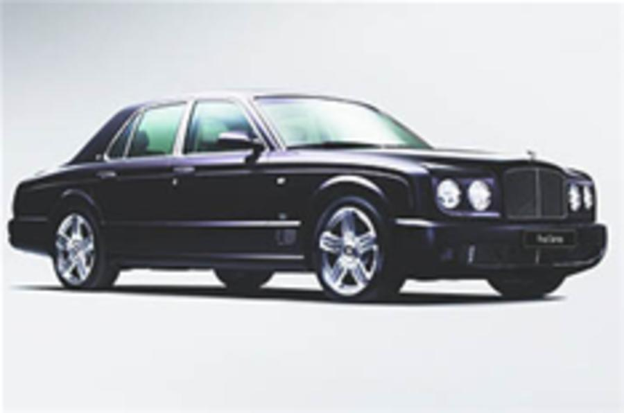 Bentley Arnage bows out