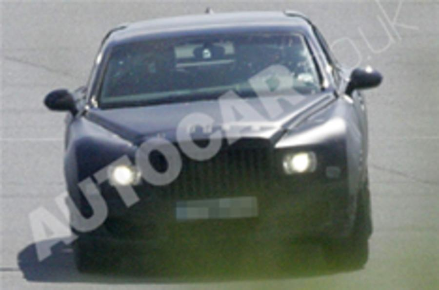 Bentley Arnage replacement spied