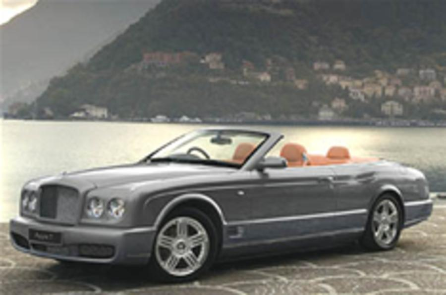 Bentley Azure T for LA show