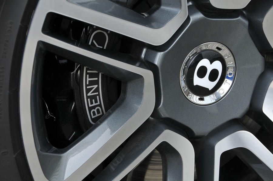 Bentley Bentayga Diesel brake calipers