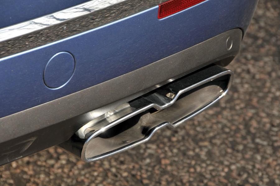 Bentley Bentayga Diesel quad exhaust