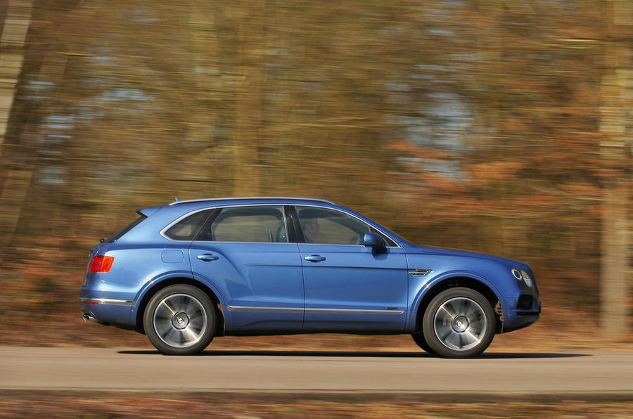 Bentley Bentayga Diesel side profile