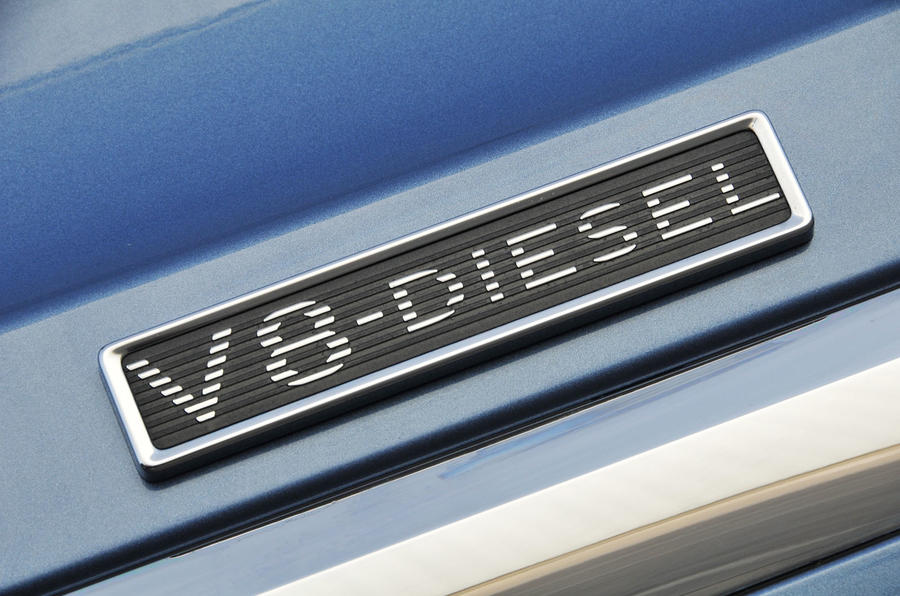 Bentley Bentayga Diesel V8 badging