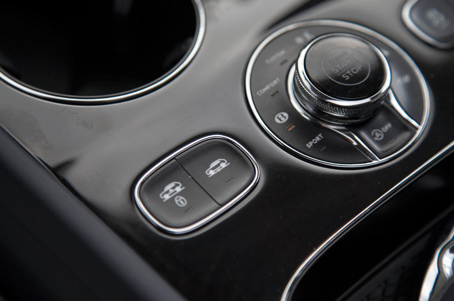 Bentley Bentayga suspension control