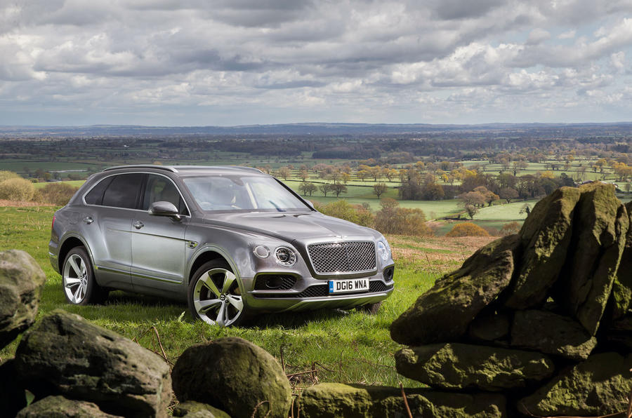 4.5 star Bentley Bentayga