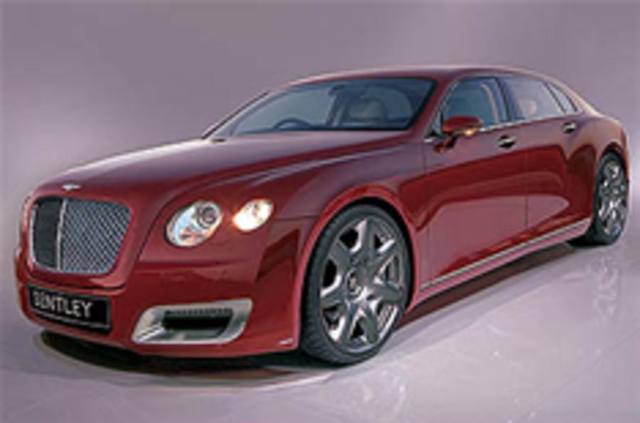 Bentley's 2010 Arnage takes shape