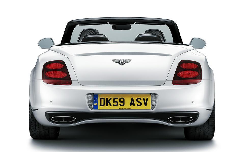 Geneva motor show: Bentley Supersports