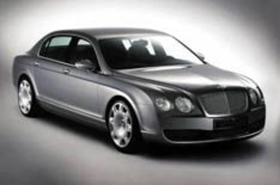Four-door Bentley ready to fly