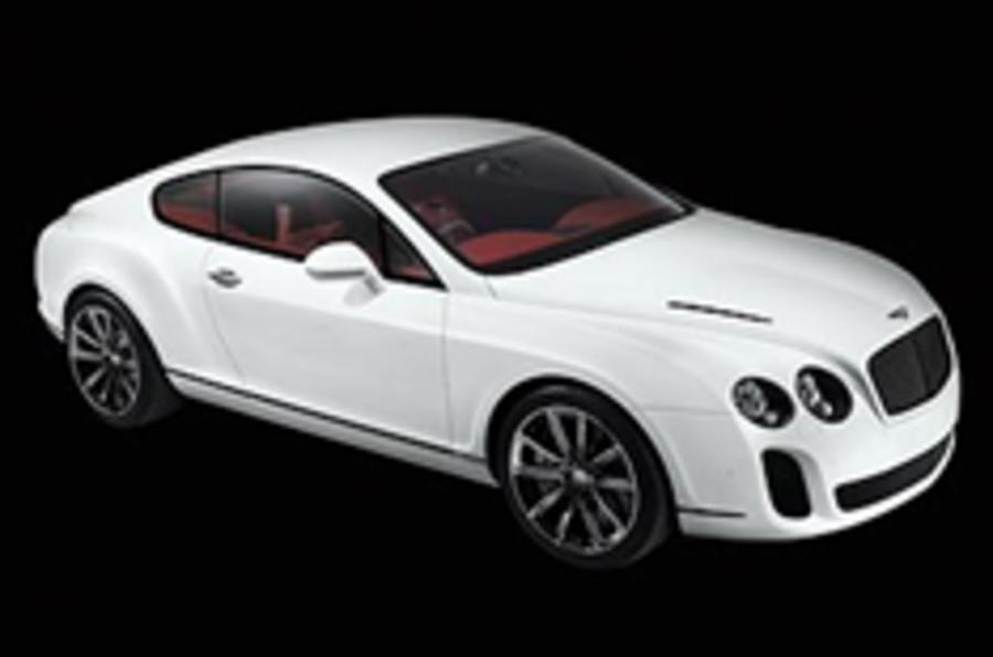 First pics: Bentley Supersports