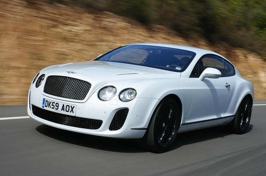 Bentley Supersports on video