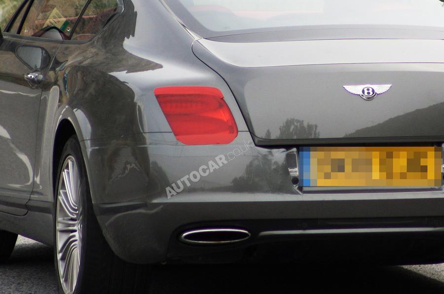 Bentley Conti' GT spied undisguised