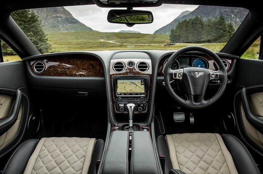 Bentley Continental GT dashboard