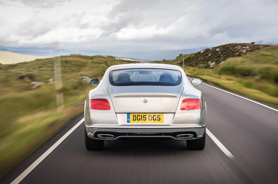 Bentley Continental GT rear